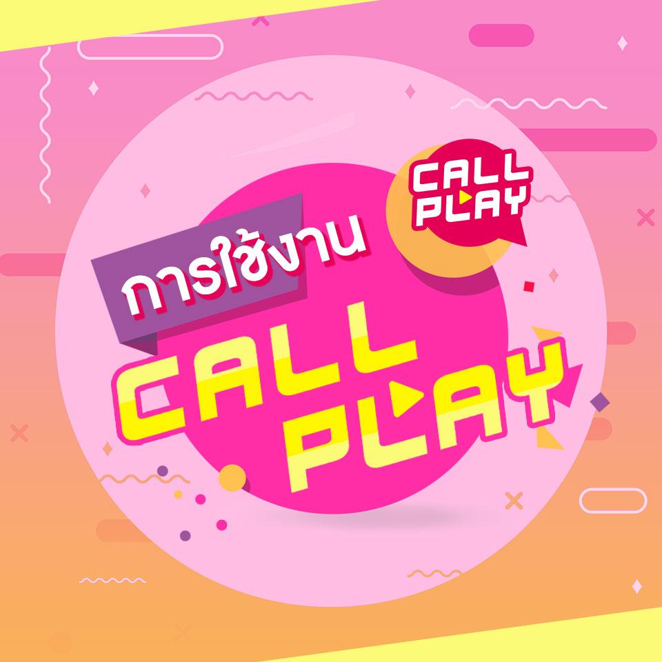 ขั้นตอนการใช้งาน Callplay